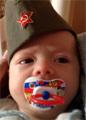 Годовалый сын Оксаны Фёдоровой обзавелся личным транспортом