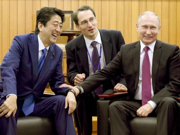 Путин иАбэ посетили «Кодокан»