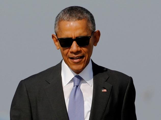 Обаму засекли на карибском острове в обществе миллиардера