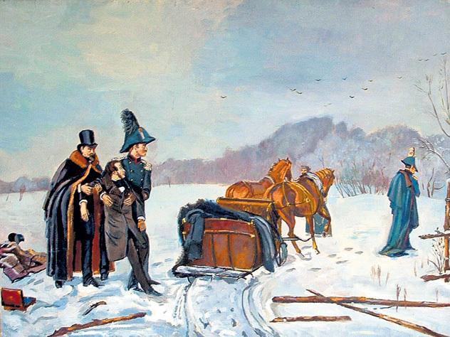 Специалисты оценили воздействие погоды напоследнюю дуэль Пушкина