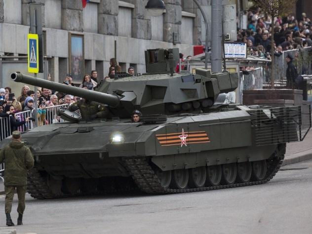 Танк «Армата» получит тактическое ядерное оружие