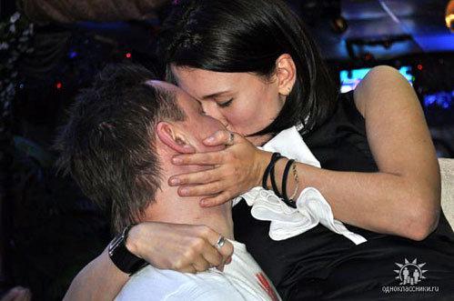 Андрей и Агата (Фото: odnoklassniki.ru)