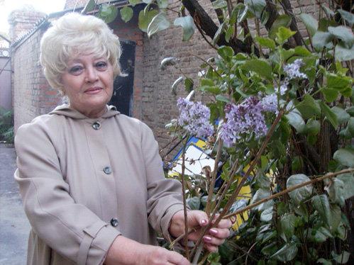 Вера Константиновна сначала не поверила своим глазам. А потом и вправду убедилась - сирень цветёт!