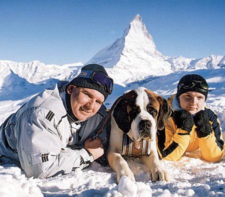 Александр каждую зиму возил жену в Альпы кататься на лыжах...