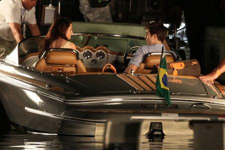 На съёмках в Рио-де-Жанейро