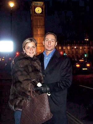 Мария СТРОГАНОВА и Вадим на каникулах в Лондоне