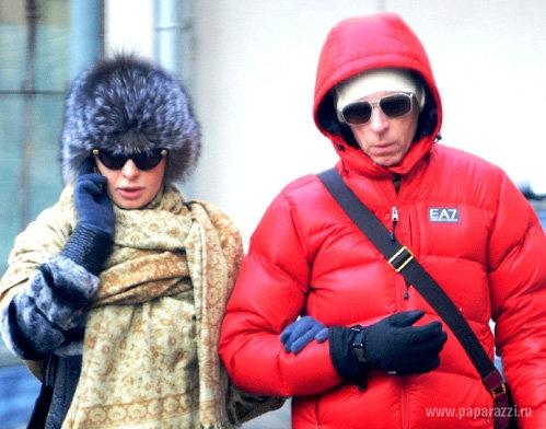 Амалии и Игорю ГНАТЕНКО не страшны морозы - фото paparazzi.ru