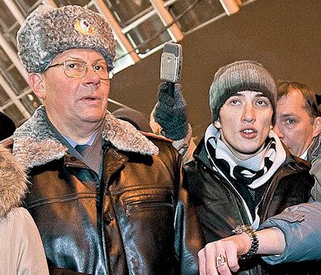 Полковник БИРЮКОВ и Левон АРЗУМАНЯН