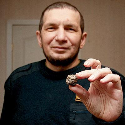 Вадим ЧЕРНОБРОВ занимается поиском и изучением метеоритов