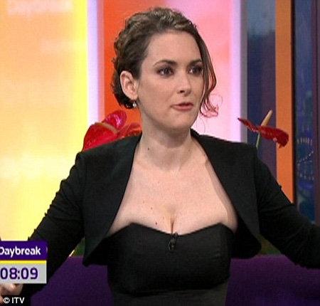 Вайнона РАЙДЕР на телешоу Daybreak today