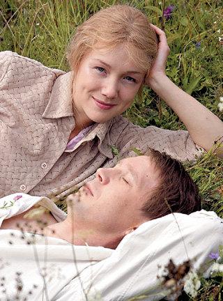 Дарья и Евгений с удовольствием играли в любовных сценах
