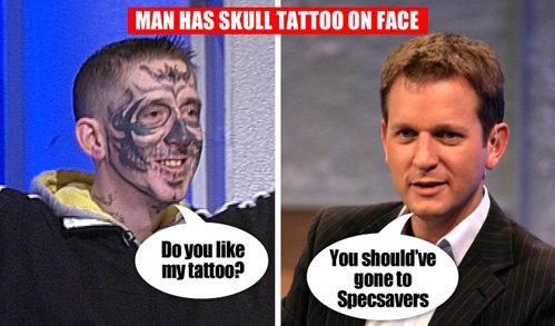 На телешоу Деон объяснил, почему он изуродовал своё лицо