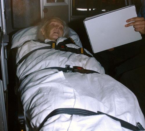 Жа Жа после последней выписки из госпиталя