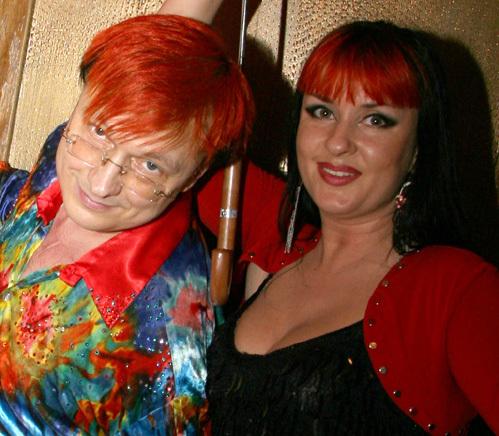 Владимир ВОЛЕНКО с женой и коллегой по группе