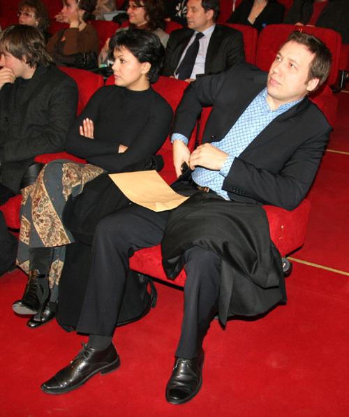Георгий Дронов с бывшей женой Татьяной. Фото Дмитрия Лифанцева.