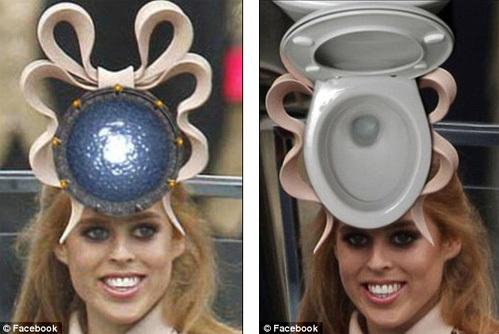 Шляпка принцессы Йоркской Беатрис стала интернет-сенсацией