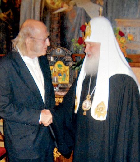 КУХИНКЕ с патриархом Кириллом