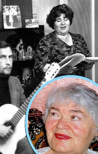 Алла Александровна в прошлом - оперная певица. Сегодня она - просто бабушка
