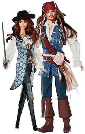 Куклы не дадут забыть о героях Джонни ДЕППА и Пенелопы КРУС даже детям