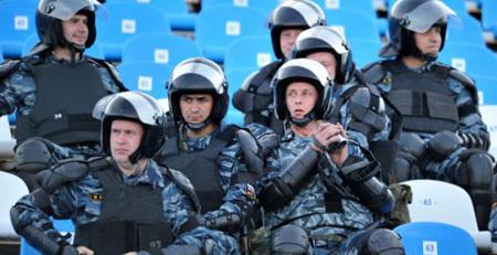 ОМОНа на трибунах больше не будет. Фото sports.ru