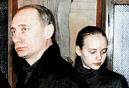 Владимир ПУТИН с дочерью Машей