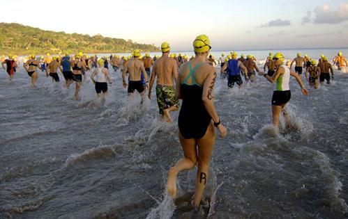 Не все спортсмены выдерживают три этапа состязания. Фото kspace.tv