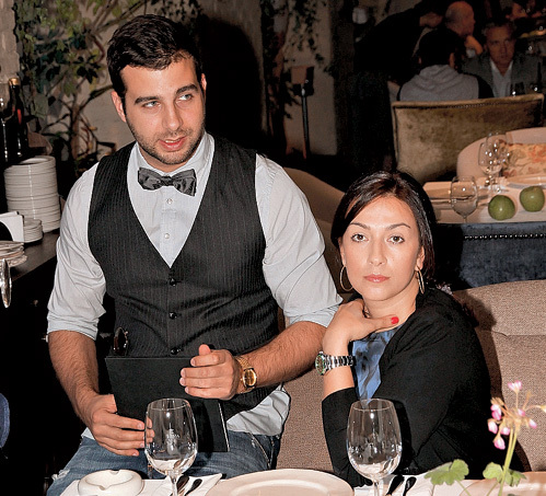 УРГАНТ часто балует супругу в собственном ресторане «The сад»