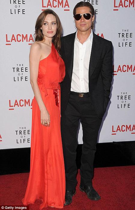 Анджелина ДЖОЛИ и Брэд ПИТТ - фото Daily Mail