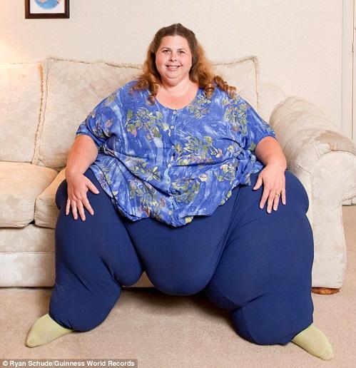 Жирная тетка мечтает похудеть