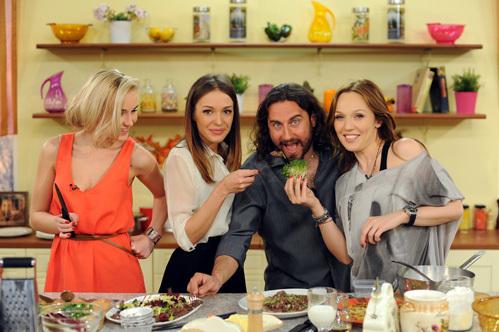 Съёмки кулинарного шоу «Вкусно жить»