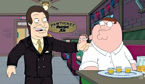 В США ХИЛЯ называют Мистер Трололо и спародировали в первой серии десятого сезона «Гриффинов»