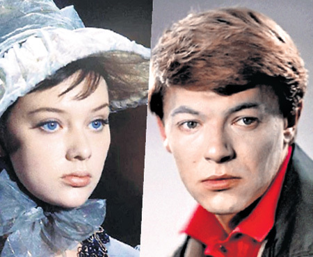 Так выглядели в юности популярнейшие актёры Людмила САВЕЛЬЕВА и Александр ЗБРУЕВ
