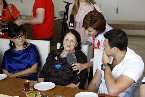 Бабушка Эмина АГАЛАРОВА Эмин-Ханум