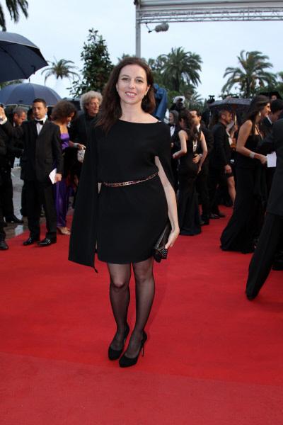 Актриса Алиса Хазанова перед премьерой фильма