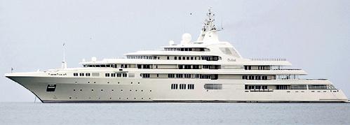 Яхта «Dubai» теперь - 162 м 61 см, что не даёт покоя Роману Аркадьевичу