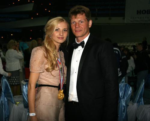 Сергей СОИН с женой