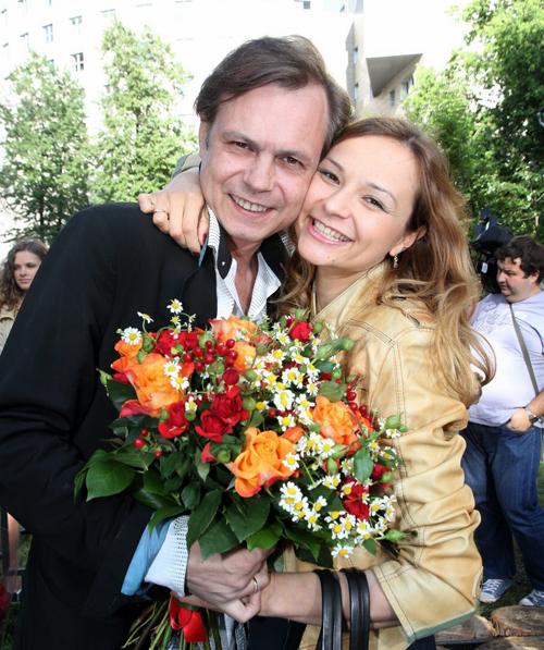 Владимир Левкин с женой Мариной.