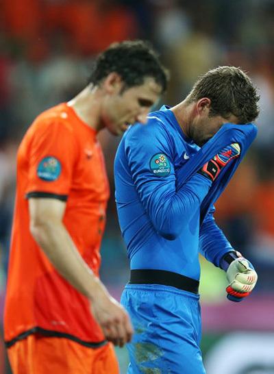 Голландцы не набрали ни одного очка в трех матчах. Фото: РИА «Новости»