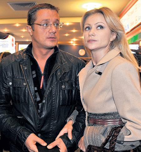 Мария МИРОНОВА и Алексей МАКАРОВ предали свои отношения огласке, когда пришли вместе на премьеру фильма «Елена» в сентябре прошлого года (фото Евгении ГУСЕВОЙ/«Комсомольская правда»)