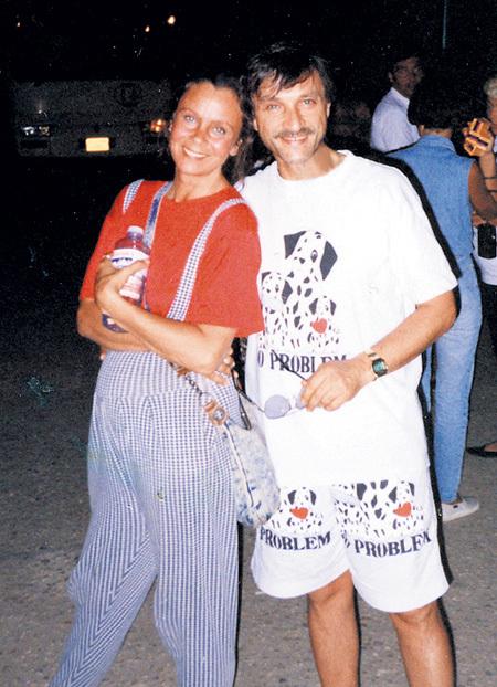 Во время злополучного круиза с Любовью ПОЛИЩУК (Испания, 1994 г.)