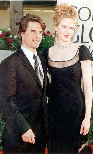 Том КРУЗ и Николь КИДМАН - фото Daily Mail
