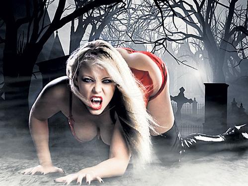 Энергетические вампиры готовы высосать из жертвы все жизненные силы