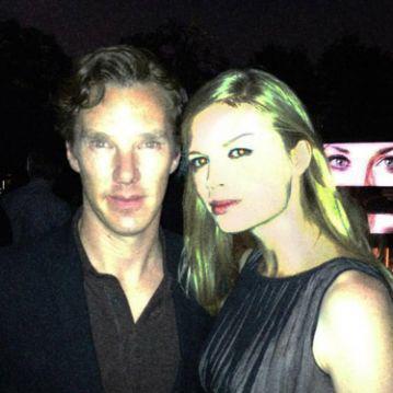 На днях Екатерина выложила на своей страничке в Facebook фото с Бенедиктом.