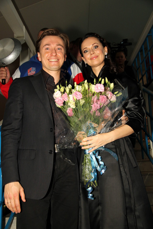 Ирина и Сергей БЕЗРУКОВЫ (фото Бориса КУДРЯВОВА).