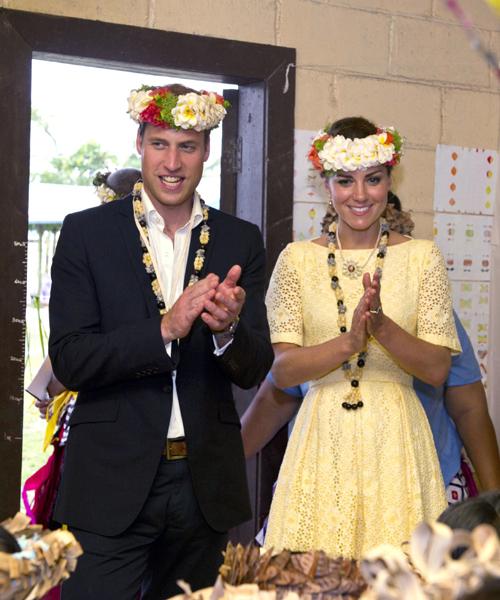 Герцог и герцогиня Кембриджские сейчас совершают тур по Азии, посвящённый бриллиантовому юбилею королевы.