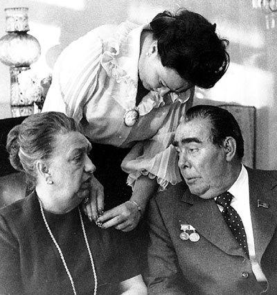 Виктория и Леонид БРЕЖНЕВЫ прожили вместе до конца своих дней