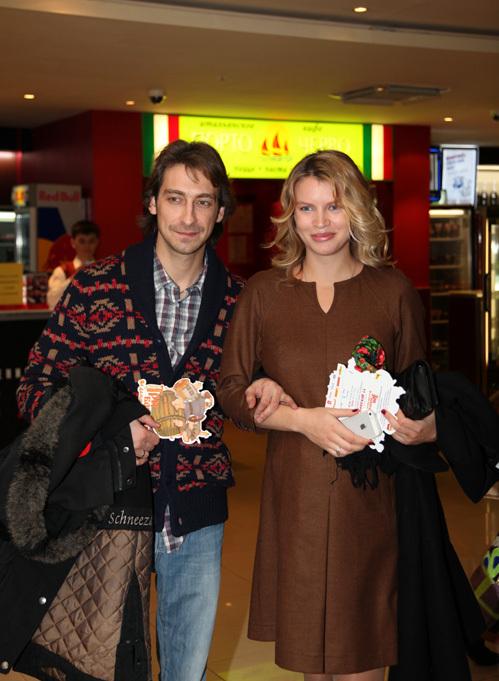 Артём ТКАЧЕНКО с женой Евгенией
