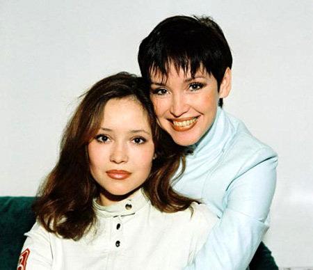 фото анна самохина и ее дочь