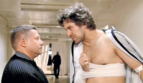 Роль Игната БАРАБАНОВА в «Агенте особого назначения» стала для Сергея (справа) звёздной