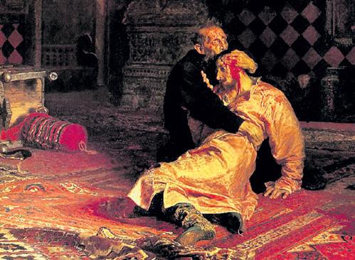После написания этой картины у Ильи РЕПИНА начала отсыхать рука